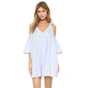 Rebecca Minkoff Light Blue Cold Shoulder Dress